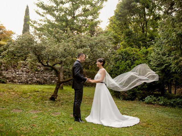 Il matrimonio di Simone e Serena a Monasterolo del Castello, Bergamo 28