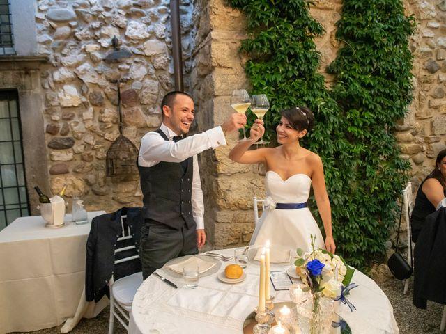 Il matrimonio di Simone e Serena a Monasterolo del Castello, Bergamo 37