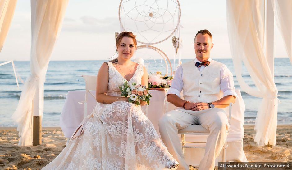 Il matrimonio di Lars e Samira a Follonica, Grosseto
