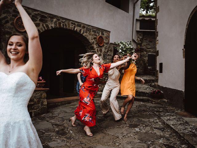 Il matrimonio di Matthew e Mallory a Pian di Sco, Arezzo 16