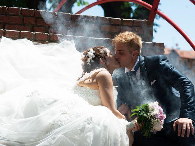 Le nozze di Roberta e Valentino