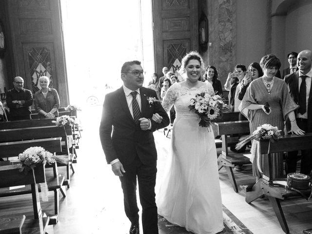 Il matrimonio di Daniele e Federica a Rovellasca, Como 11