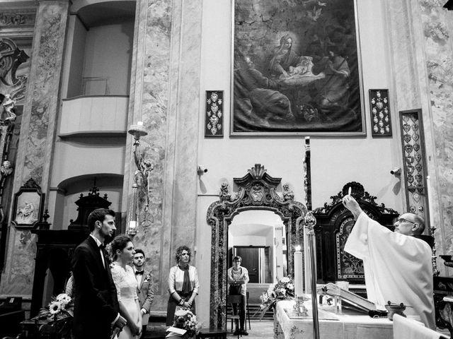 Il matrimonio di Daniele e Federica a Rovellasca, Como 14