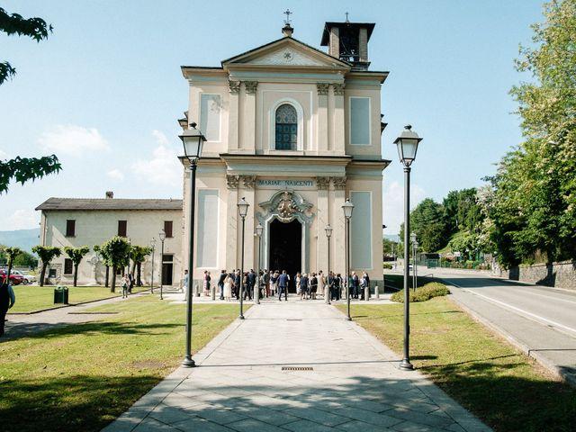Il matrimonio di Daniele e Federica a Rovellasca, Como 17