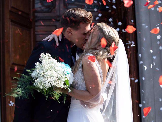 Il matrimonio di Alessandro e Elena a Palazzago, Bergamo 80