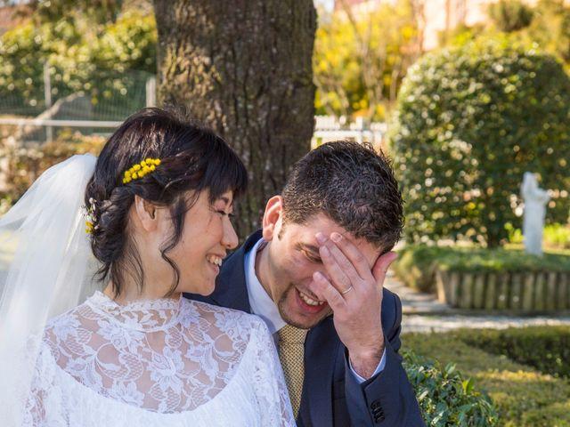 Il matrimonio di Stefano e Kaori a Crescentino, Vercelli 9