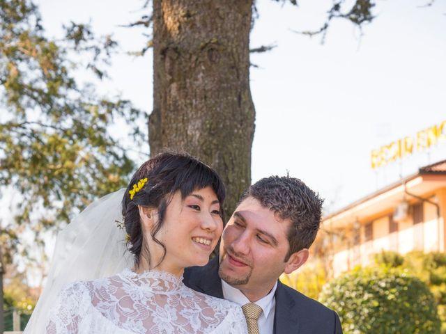 Il matrimonio di Stefano e Kaori a Crescentino, Vercelli 1