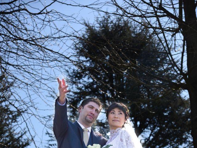 Il matrimonio di Stefano e Kaori a Crescentino, Vercelli 12