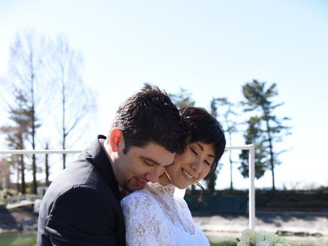 Il matrimonio di Stefano e Kaori a Crescentino, Vercelli 20