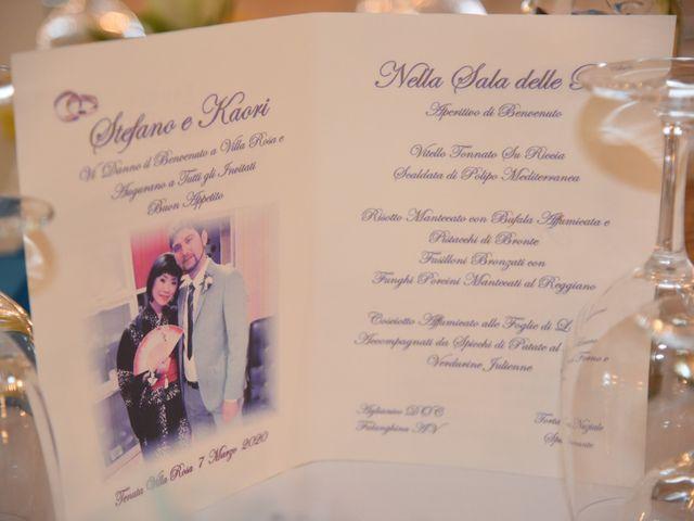 Il matrimonio di Stefano e Kaori a Crescentino, Vercelli 27