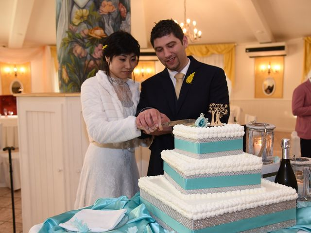 Il matrimonio di Stefano e Kaori a Crescentino, Vercelli 34