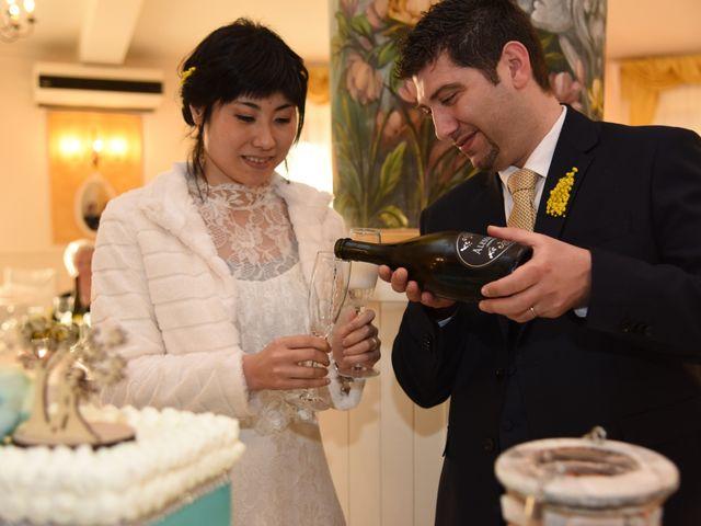 Il matrimonio di Stefano e Kaori a Crescentino, Vercelli 35