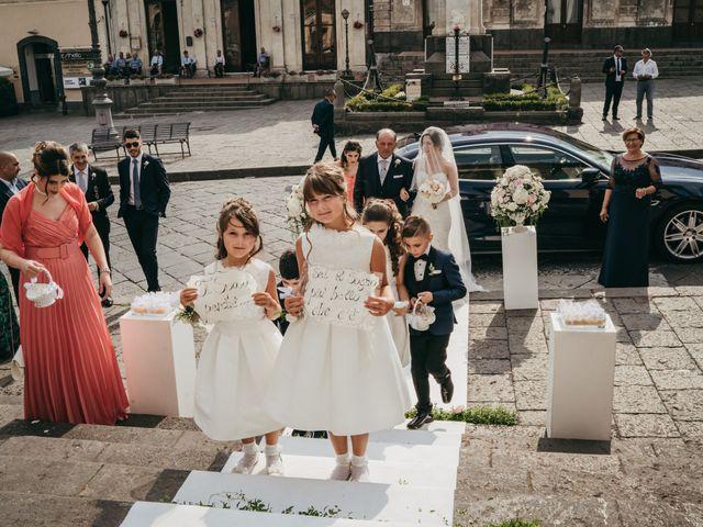Il matrimonio di Carmelita e Carmelo a Pedara, Catania 68