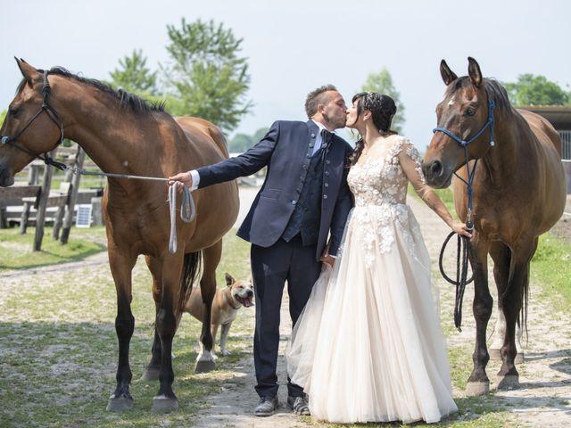 Le nozze di Hermina e Luca