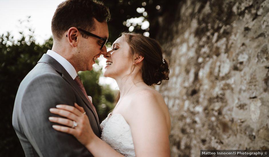 Il matrimonio di Matthew e Mallory a Pian di Sco, Arezzo