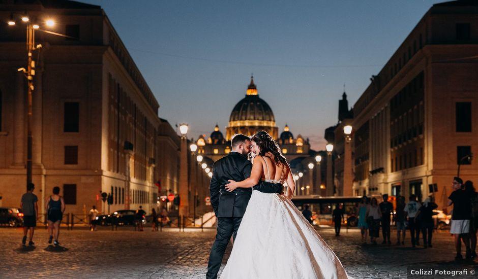 Il matrimonio di Manolo e Giusy a Roma, Roma