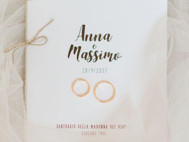Il matrimonio di Massimo e Anna a Seregno, Monza e Brianza 8