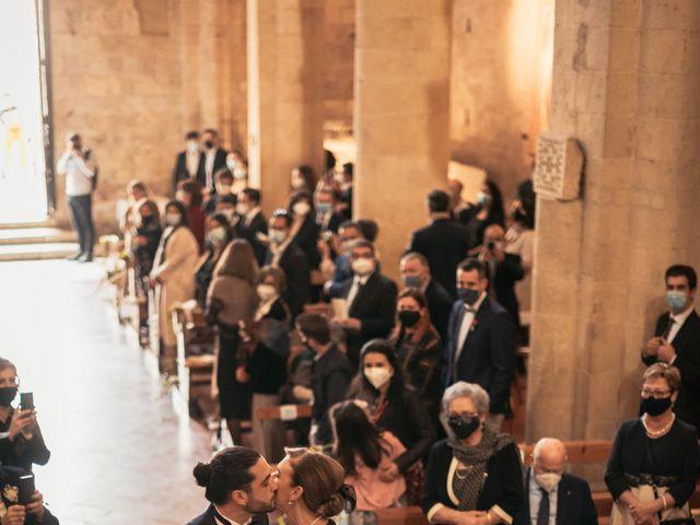 Il matrimonio di Agnese e Tommaso a Monteriggioni, Siena 52