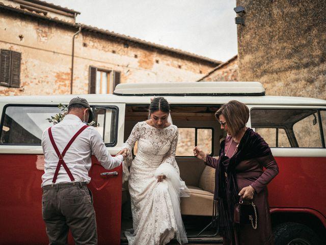 Il matrimonio di Agnese e Tommaso a Monteriggioni, Siena 53