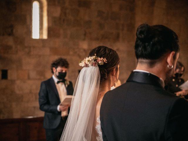Il matrimonio di Agnese e Tommaso a Monteriggioni, Siena 61