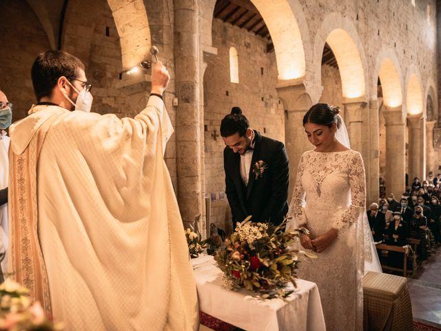 Il matrimonio di Agnese e Tommaso a Monteriggioni, Siena 63