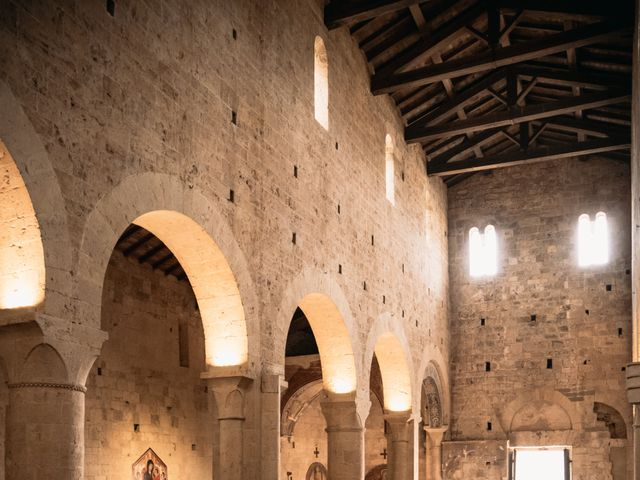 Il matrimonio di Agnese e Tommaso a Monteriggioni, Siena 65