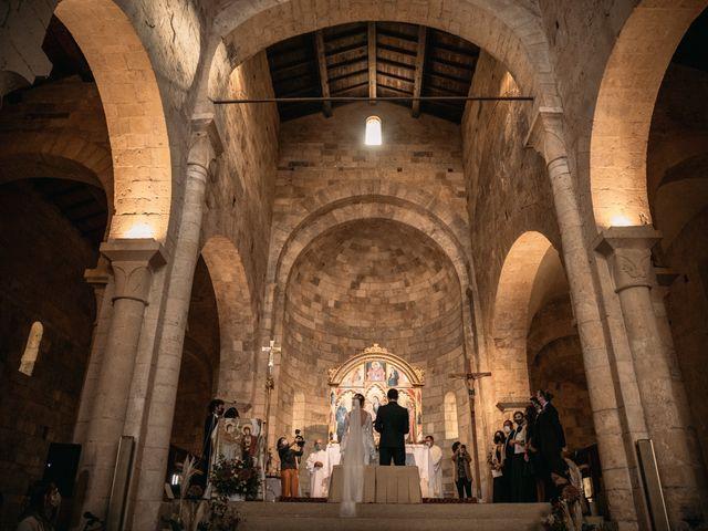 Il matrimonio di Agnese e Tommaso a Monteriggioni, Siena 66