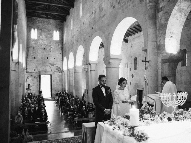 Il matrimonio di Agnese e Tommaso a Monteriggioni, Siena 69