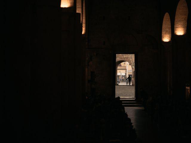 Il matrimonio di Agnese e Tommaso a Monteriggioni, Siena 71