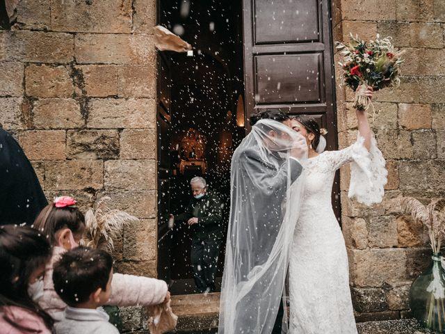 Il matrimonio di Agnese e Tommaso a Monteriggioni, Siena 76