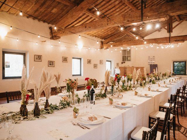 Il matrimonio di Agnese e Tommaso a Monteriggioni, Siena 82