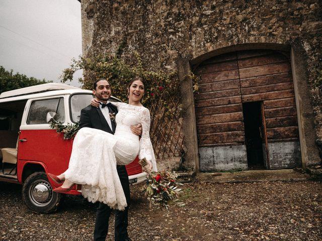 Il matrimonio di Agnese e Tommaso a Monteriggioni, Siena 84