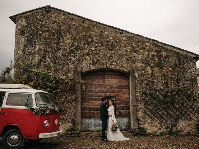 Il matrimonio di Agnese e Tommaso a Monteriggioni, Siena 87