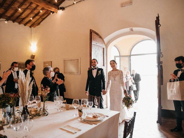 Il matrimonio di Agnese e Tommaso a Monteriggioni, Siena 91