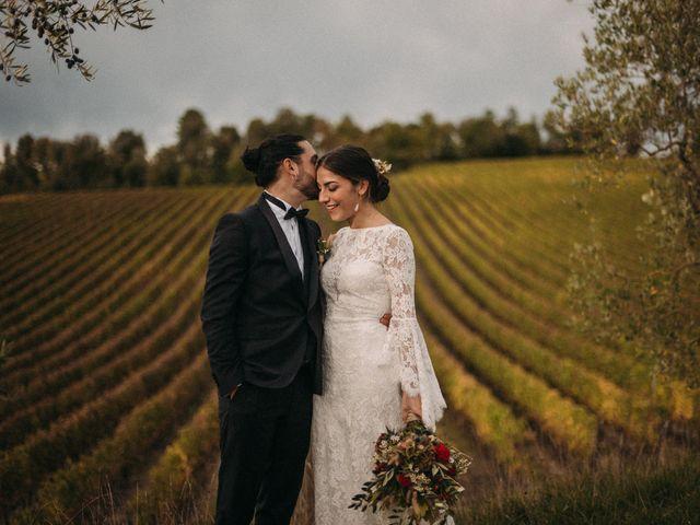 Il matrimonio di Agnese e Tommaso a Monteriggioni, Siena 95