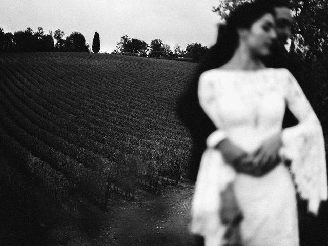 Il matrimonio di Agnese e Tommaso a Monteriggioni, Siena 101