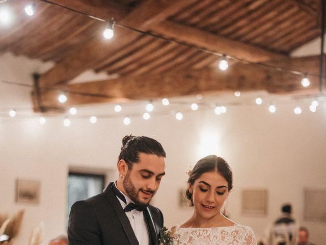 Il matrimonio di Agnese e Tommaso a Monteriggioni, Siena 113