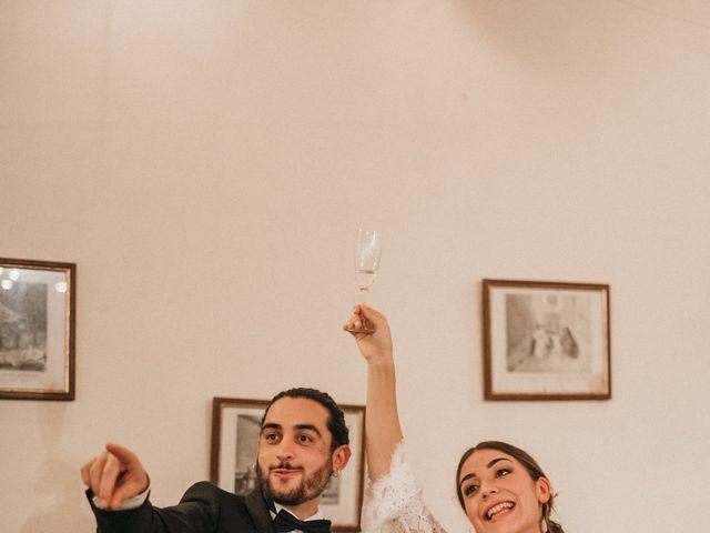 Il matrimonio di Agnese e Tommaso a Monteriggioni, Siena 123