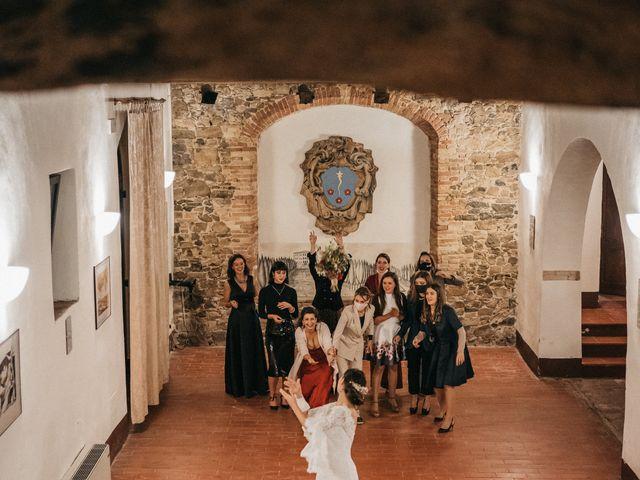 Il matrimonio di Agnese e Tommaso a Monteriggioni, Siena 124