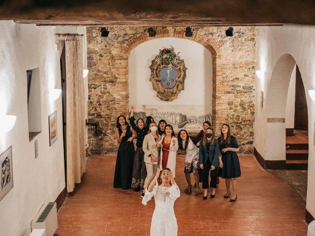 Il matrimonio di Agnese e Tommaso a Monteriggioni, Siena 125