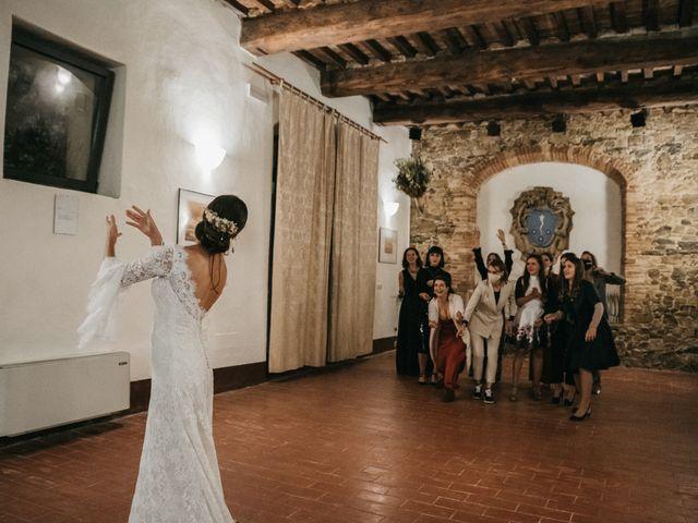 Il matrimonio di Agnese e Tommaso a Monteriggioni, Siena 126
