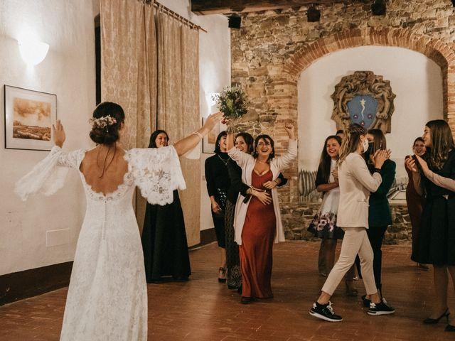 Il matrimonio di Agnese e Tommaso a Monteriggioni, Siena 127