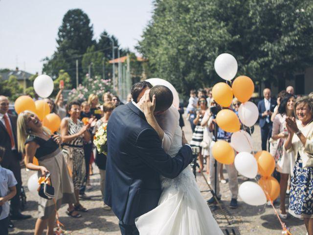 Il matrimonio di Stefano e Cristina a Ranco, Varese 8