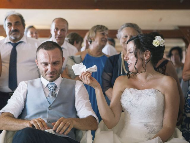 Il matrimonio di Stefano e Cristina a Ranco, Varese 14