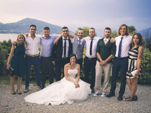 Il matrimonio di Stefano e Cristina a Ranco, Varese 19