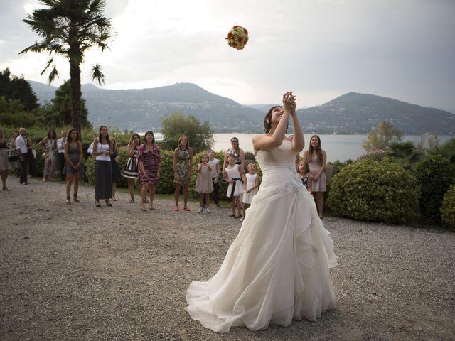 Il matrimonio di Stefano e Cristina a Ranco, Varese 20