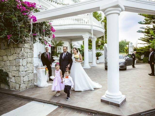 Il matrimonio di Sergio e Sharon a Tripi, Messina 19