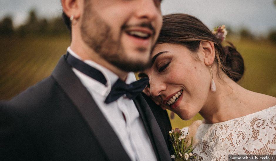 Il matrimonio di Agnese e Tommaso a Monteriggioni, Siena