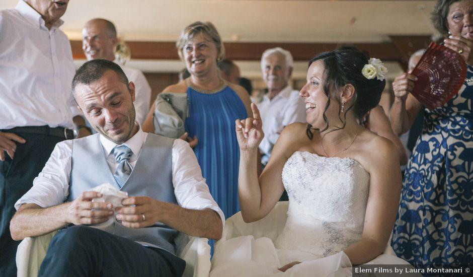 Il matrimonio di Stefano e Cristina a Ranco, Varese
