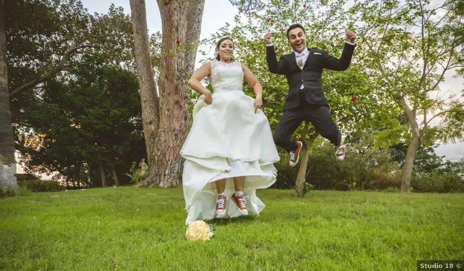 Il matrimonio di Sergio e Sharon a Tripi, Messina